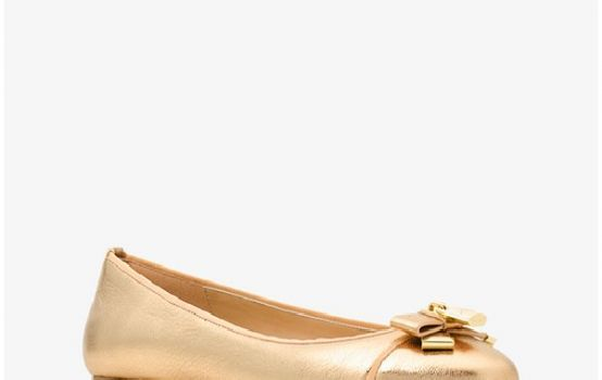 Alice Metallic Leather Ballet Flat-01