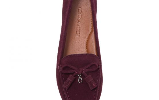 Coach Gia Suede Tassel Loafer-01
