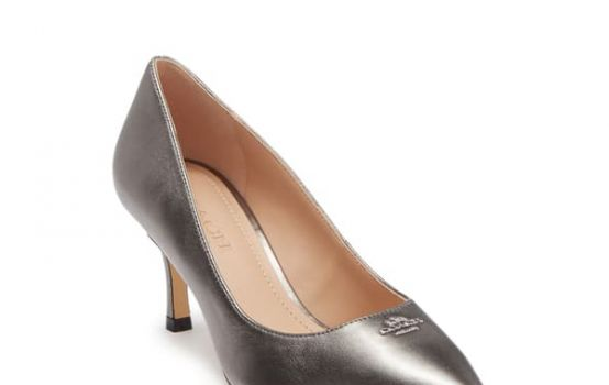 Coach Orla Metallic Leather Pump-03