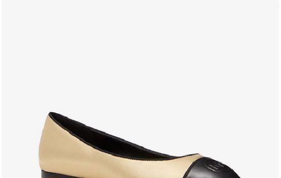 Dylyn Metallic Leather Ballet Flat-01