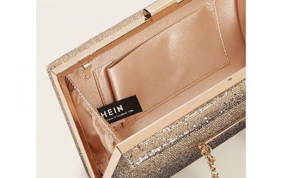 Glitter Chain Box Bag-01