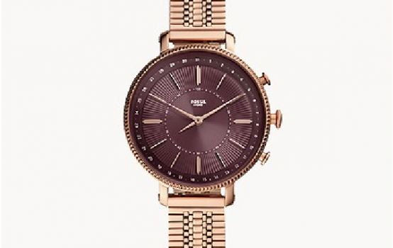Hybrid Smartwatch Cameron Rose Gold-Tone Stainless Steel-01