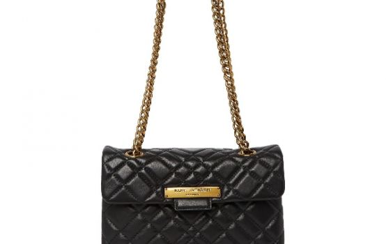 KG by KURT GEIGER Dual Shoulder Quilted Brixton Bag-03