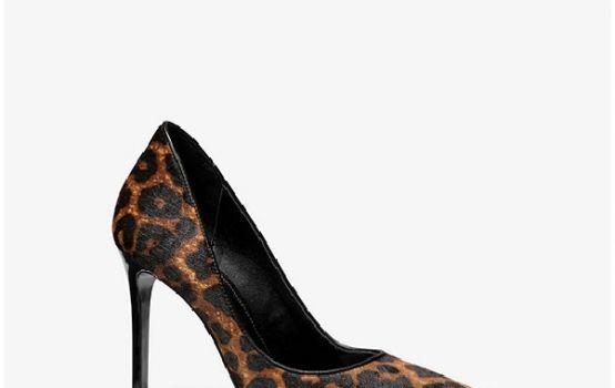 Keke Leopard Calf Hair Pump-01