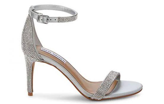 Steve Madden Stecia Embellished Metallic Ankle-Strap Sandals-01