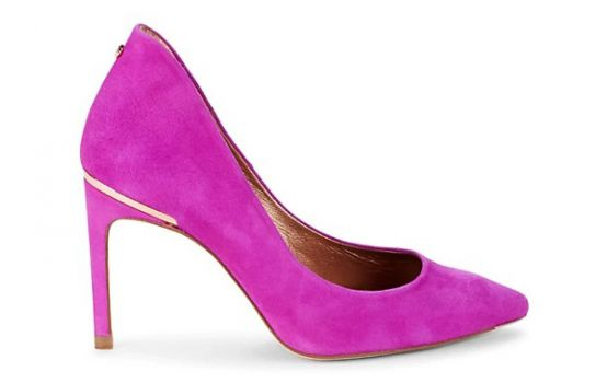 Ted Baker London Suede Stiletto Pumps-01