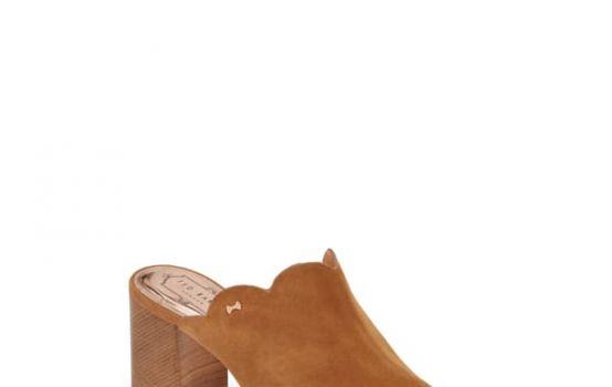 Ted Baker London Zinia Scallop Block Heel Mule-06