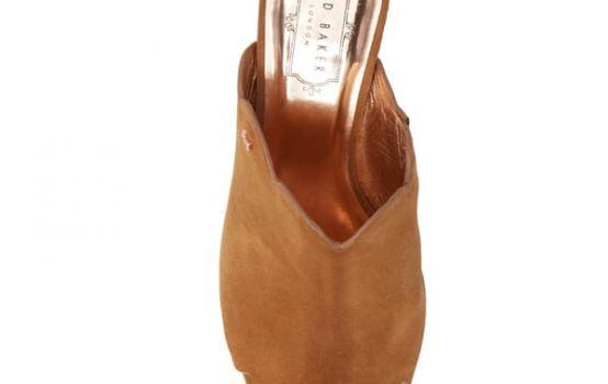 Ted Baker London Zinia Scallop Block Heel Mule-07