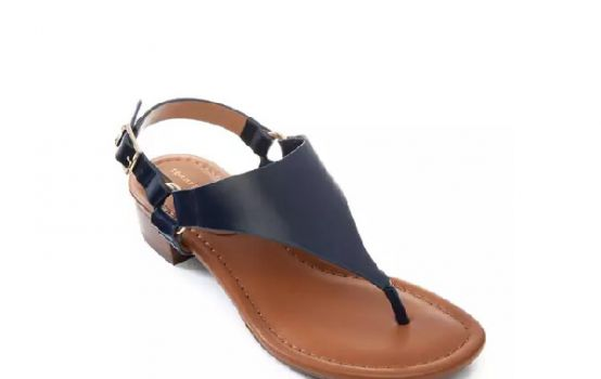 Tommy Hilfiger Kofie Hooded Block Sandals-01