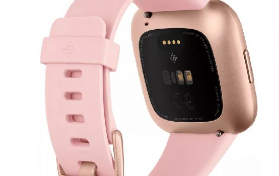 Versa 2 Rose Elastomer Strap Touchscreen Smart Watch 39mm-04