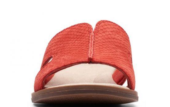 clarks Declan Snakeskin Embossed Sandal - Wide Width Available-04