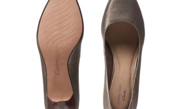 clarks Linvale Jerica Metallic Pump - Wide Width Available-03