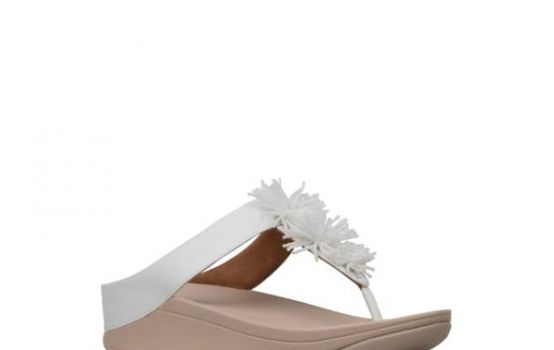 fitflop Fino Bead Pompom Wedge Sandal-05