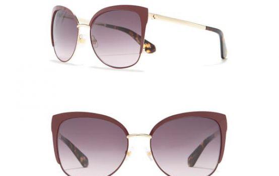 kate spade new york genice 57mm cat-eye sunglasses-06