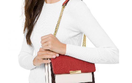 MICHAEL Michael Kors Jade Large Shoulder Bag-07