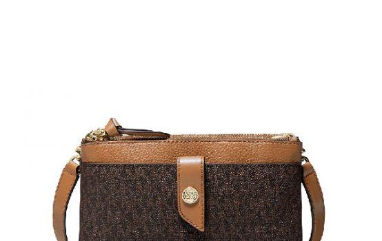 MICHAEL Michael Kors Signature Phone Crossbody Bag-02